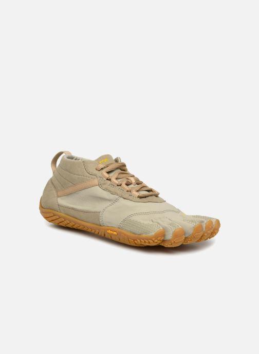 Chaussures de sport Vibram FiveFingers V-Trek W Vert vue détail/paire