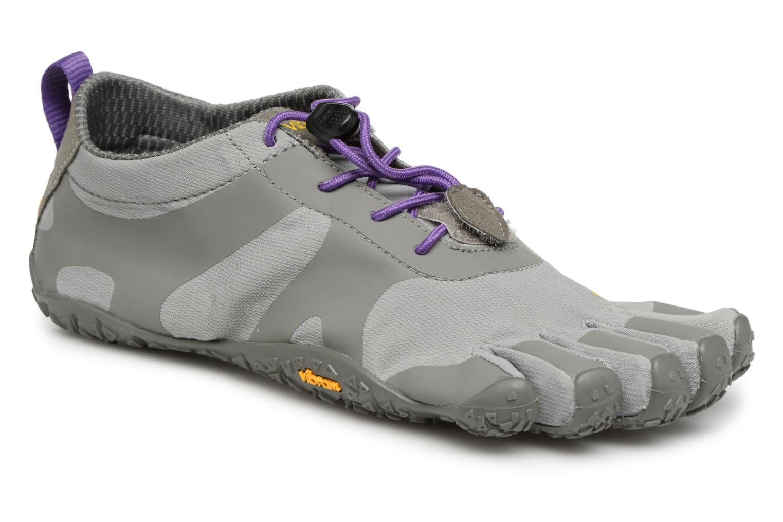 Chaussures de sport Vibram FiveFingers V-Alpha Gris vue détail/paire