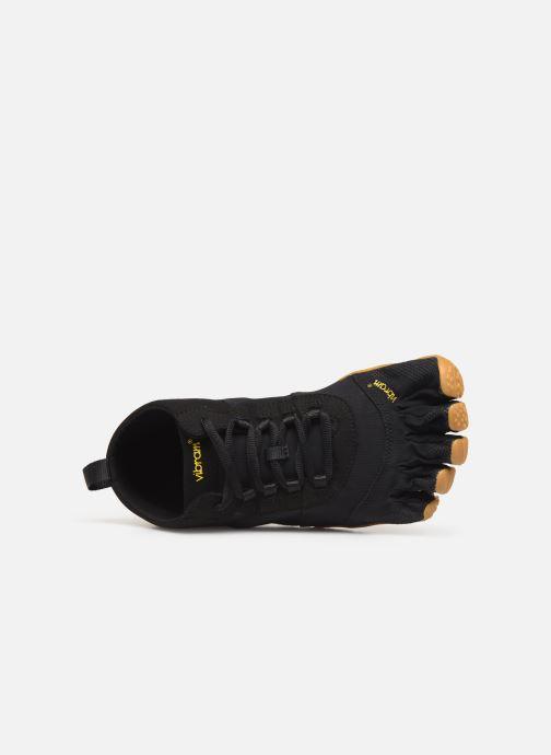 Chaussures de sport Vibram FiveFingers V-Trek Noir vue gauche