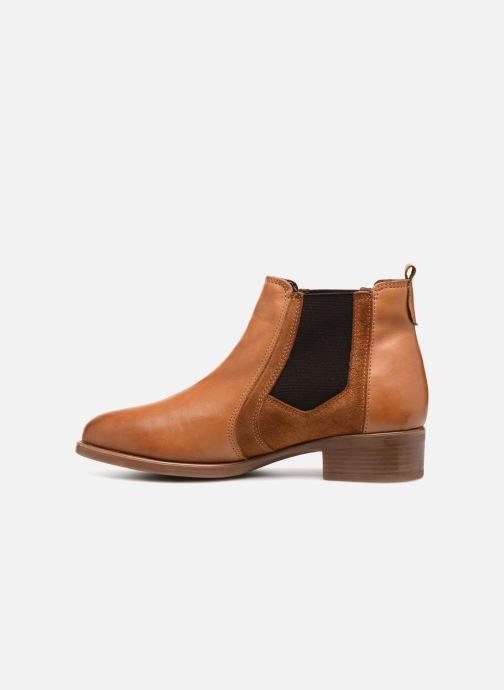 Cognac Bottines Georgia Jania Et Boots Rose Nwv08mn