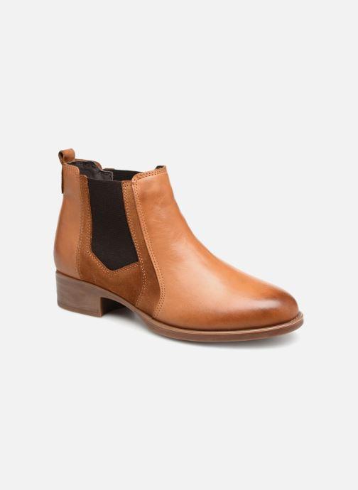 Bottines et boots Georgia Rose Jania Marron vue détail/paire