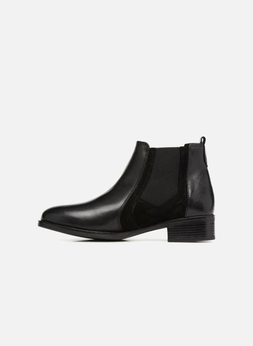 Bottines et boots Georgia Rose Jania Noir vue face