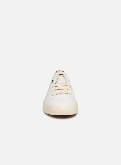Baskets Tommy Hilfiger Unlined Blanc vue portées chaussures