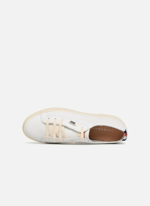 Sneakers Tommy Hilfiger Unlined Wit links