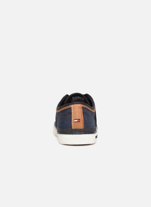 Sneaker Tommy Hilfiger Core Seasonal Textile Sneaker blau ansicht von rechts