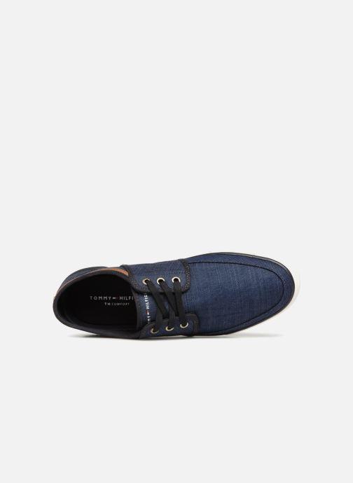 Sneaker Tommy Hilfiger Core Seasonal Textile Sneaker blau ansicht von links