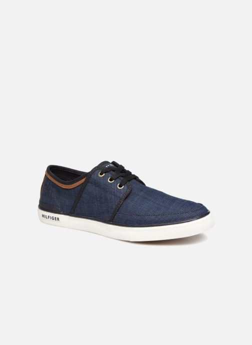 e61e98fb60b23 Sneaker Tommy Hilfiger Core Seasonal Textile Sneaker blau detaillierte  ansicht/modell