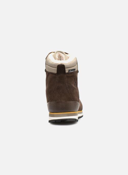 Zapatillas de deporte HAGLOFS Grevbo Proof Eco Men Marrón vista lateral derecha
