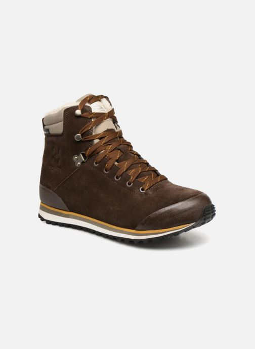 Zapatillas de deporte HAGLOFS Grevbo Proof Eco Men Marrón vista de detalle / par