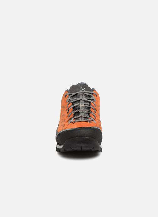Chaussures de sport HAGLOFS Vertigo Proof Eco Men Orange vue portées chaussures