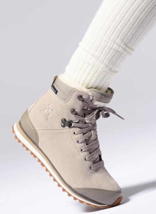 Zapatillas de deporte HAGLOFS Grevbo Proof Eco Women Beige vista de abajo