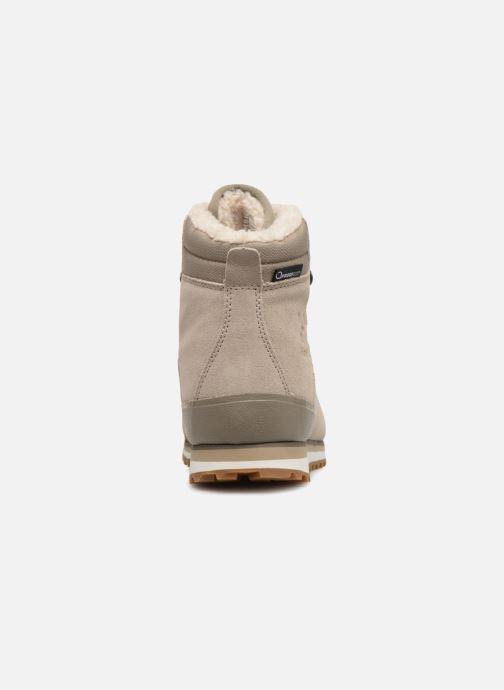 Zapatillas de deporte HAGLOFS Grevbo Proof Eco Women Beige vista lateral derecha