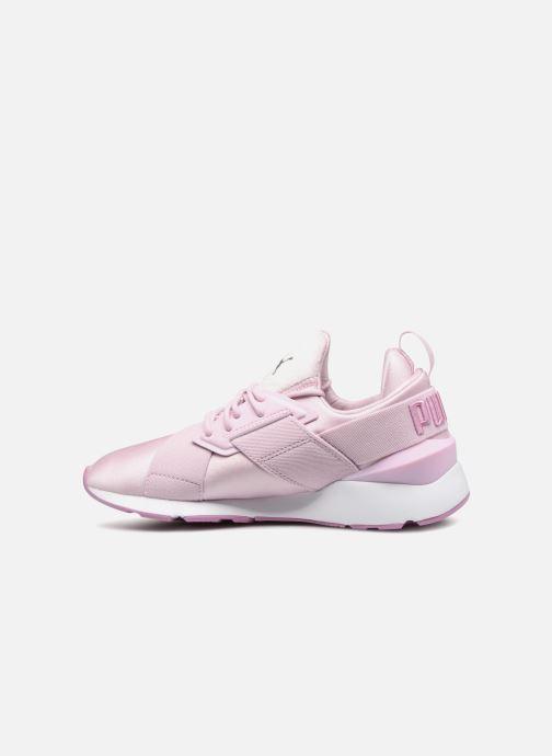 Sneakers Puma Wn Muse Satin Ii Paars voorkant