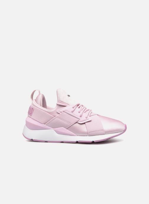 Sneakers Puma Wn Muse Satin Ii Paars achterkant