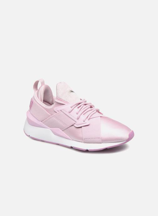 Sneakers Puma Wn Muse Satin Ii Paars detail