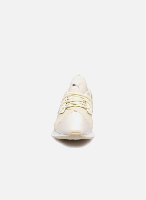 Sneaker Puma Wn Muse Satin Ii weiß schuhe getragen