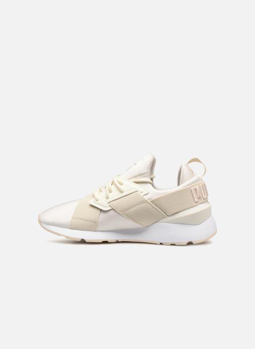 Sneaker Puma Wn Muse Satin Ii weiß ansicht von vorne