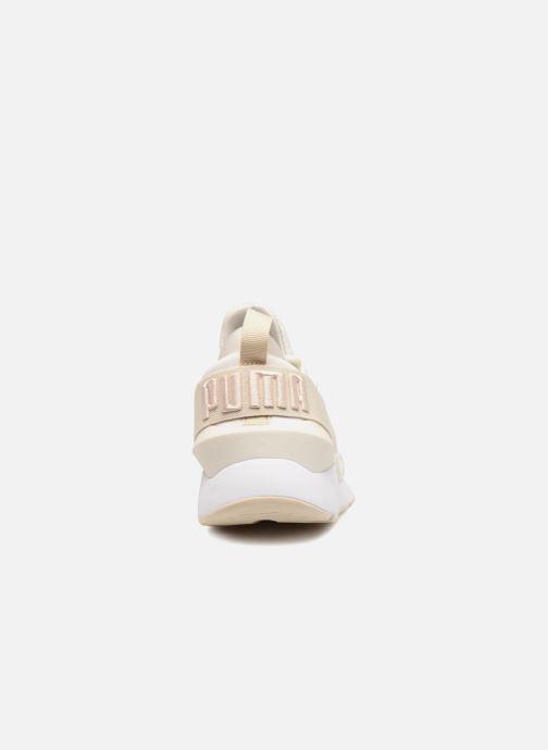 Sneaker Puma Wn Muse Satin Ii weiß ansicht von rechts