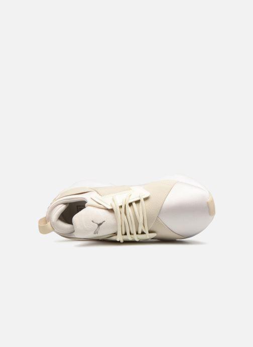 Sneaker Puma Wn Muse Satin Ii weiß ansicht von links