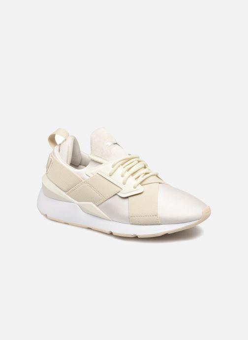 Sneaker Puma Wn Muse Satin Ii weiß detaillierte ansicht/modell