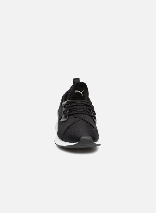 Baskets Puma Wn Muse Satin Ii Noir vue portées chaussures