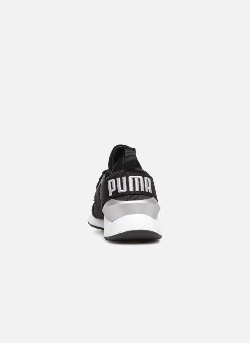 Baskets Puma Wn Muse Satin Ii Noir vue droite