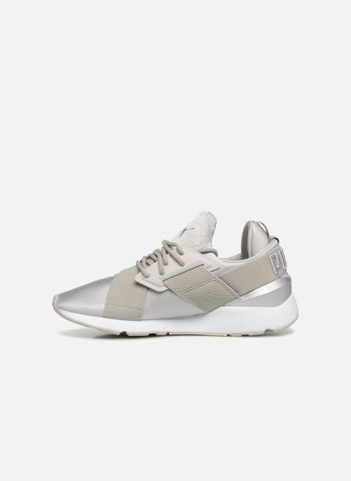 Sneaker Puma Wn Muse Satin Ii grau ansicht von vorne