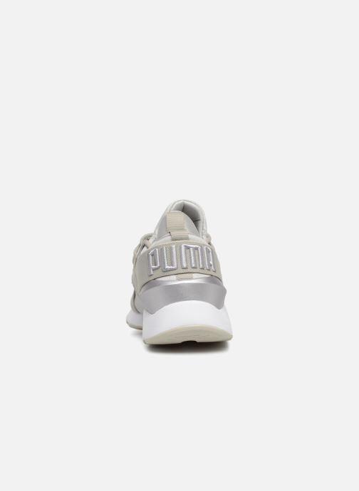 Sneaker Puma Wn Muse Satin Ii grau ansicht von rechts