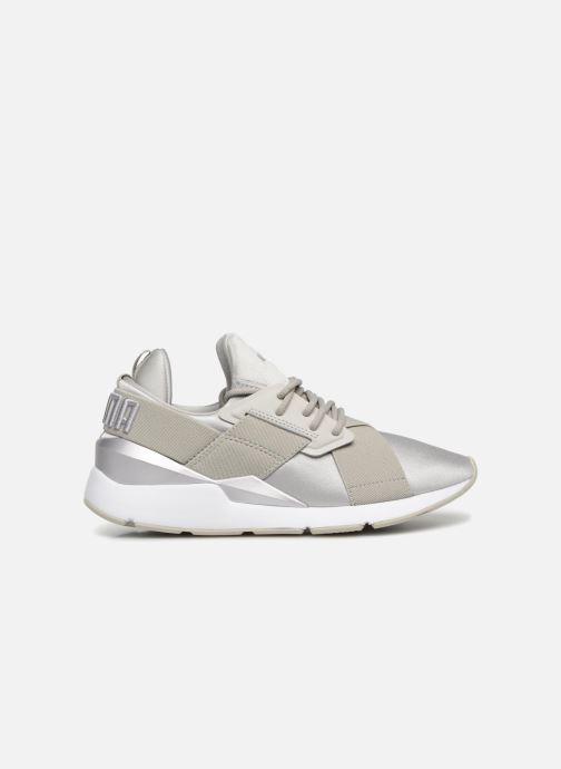 Sneaker Puma Wn Muse Satin Ii grau ansicht von hinten