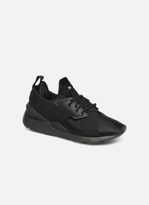 Trainers Puma Wn Muse Satin Ii Black detailed view/ Pair view