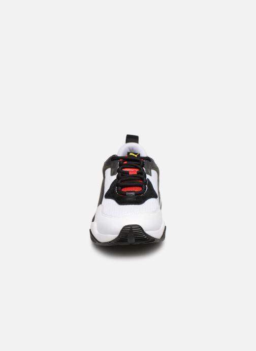 Baskets Puma Thunder Spectra Blanc vue portées chaussures