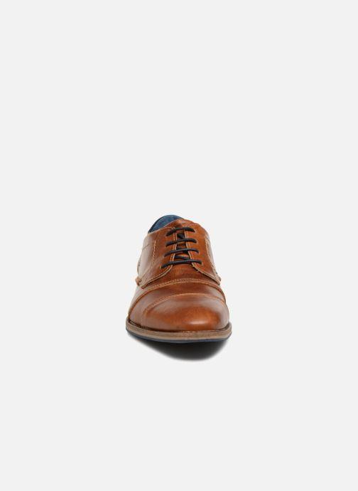 Chaussures à lacets Redskins Delsol Marron vue portées chaussures