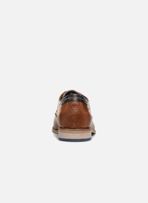 Chaussures à lacets Redskins Delsol Marron vue droite
