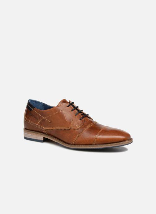 Chaussures à lacets Redskins Delsol Marron vue détail/paire