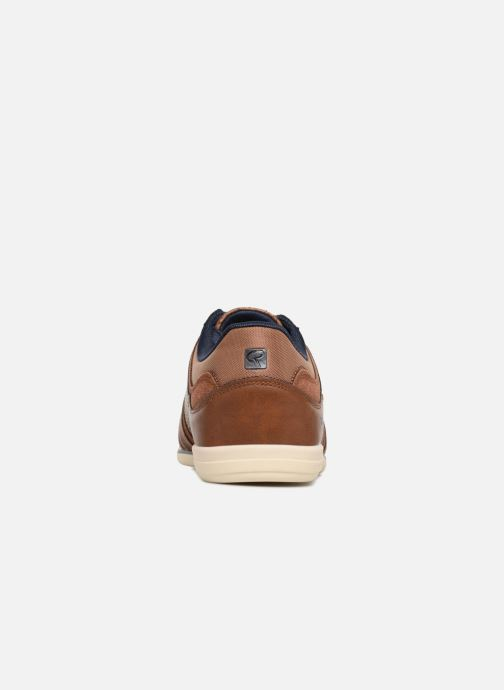 Baskets Redskins Illic Marron vue droite