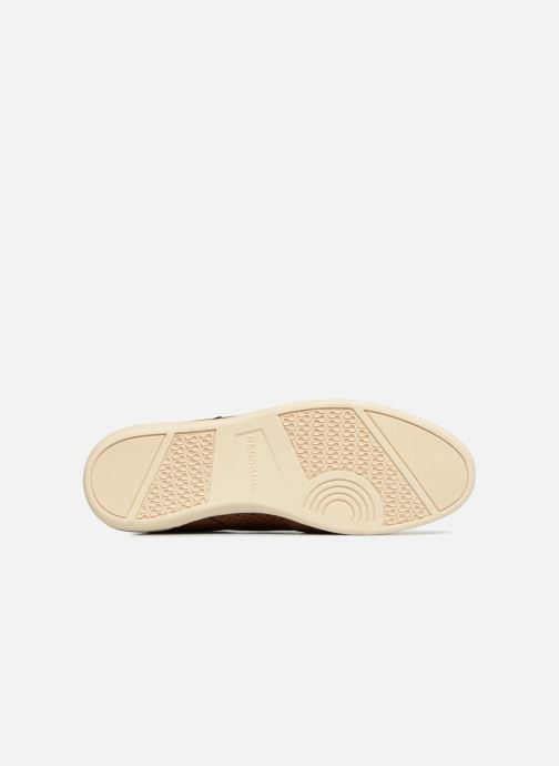 Baskets Redskins Illic Marron vue haut