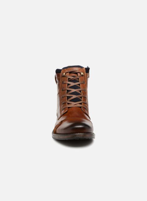 Bottines et boots Redskins Yani Marron vue portées chaussures