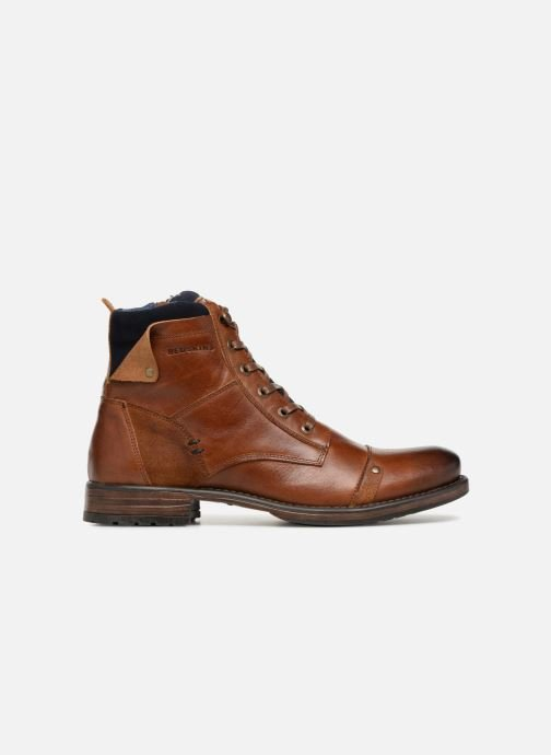 Ankle boots Redskins Yani Brown back view