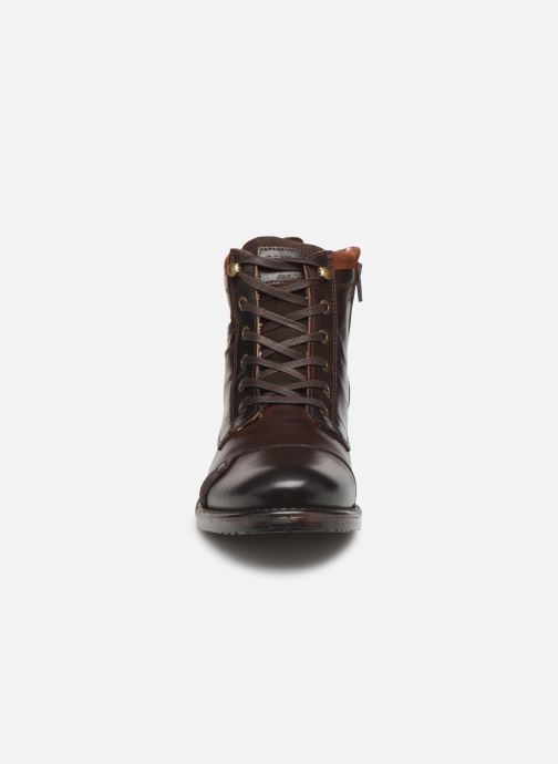Ankle boots Redskins Yani Brown model view