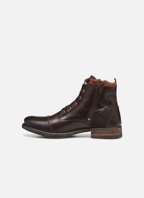 Ankle boots Redskins Yani Brown front view