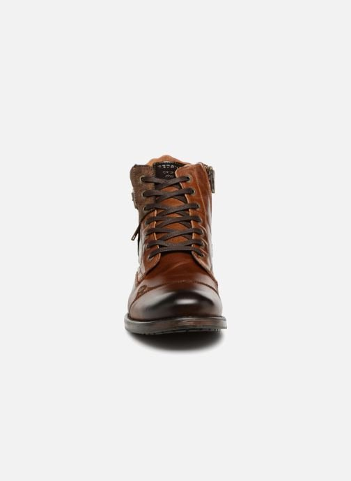 Ankle boots Redskins Yero Brown model view