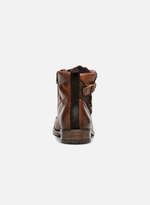 Ankle boots Redskins Yero Brown view from the right