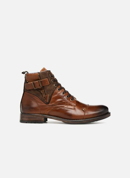 Ankle boots Redskins Yero Brown back view
