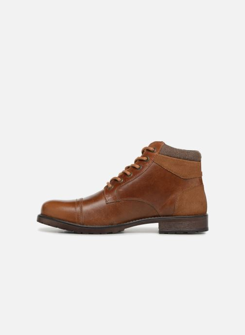 Ankle boots Redskins Ebien Brown front view