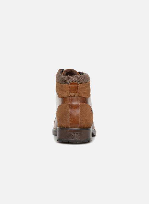 Ankle boots Redskins Ebien Brown view from the right