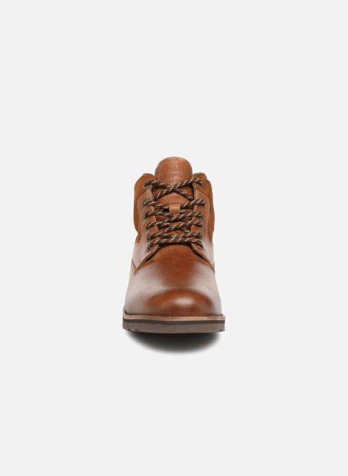 Ankle boots Redskins Page Brown model view