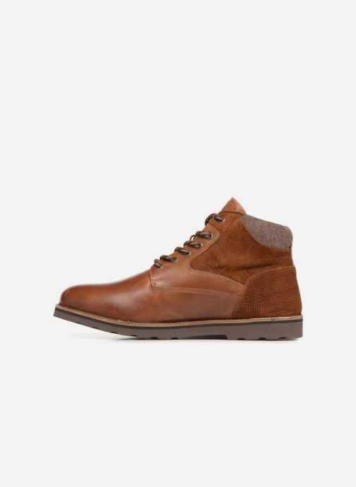 Ankle boots Redskins Page Brown front view