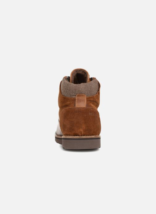 Ankle boots Redskins Page Brown view from the right