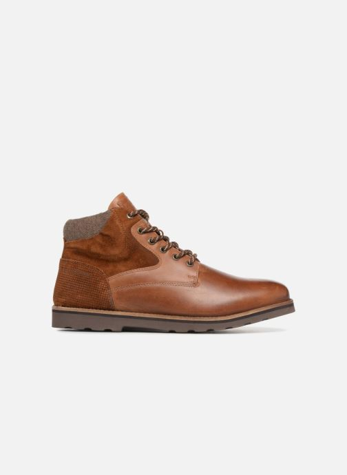 Ankle boots Redskins Page Brown back view