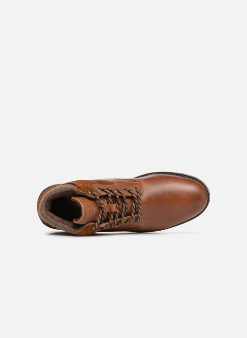 Ankle boots Redskins Page Brown view from the left